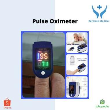 harga Pulse Oximeter PUtih Biru Hitam Blibli.com