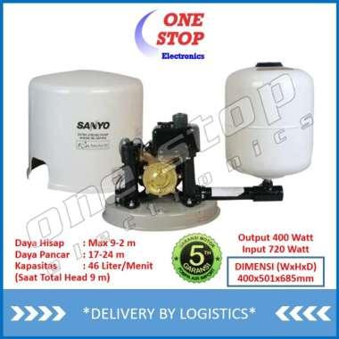 Jual Garansi Resmi Sanyo Ph 608jp Pompa Air Sumur Dangkal Otomatis Ph608jp P H608jp Online Maret 2021 Blibli
