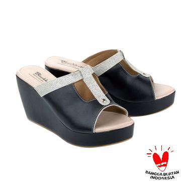 Blackkelly LLD 940 Sandal Wedges Wanita