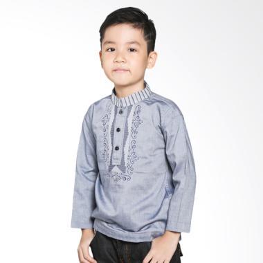 Intresse KD-840825-BL Baju Koko Anak - Grey Blue