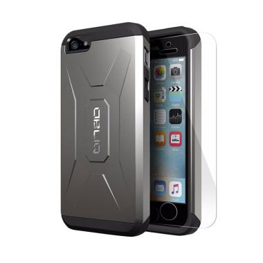 Obliq Xtreme Pro Casing for iPhone 5S or iPhone SE - Gun Metal