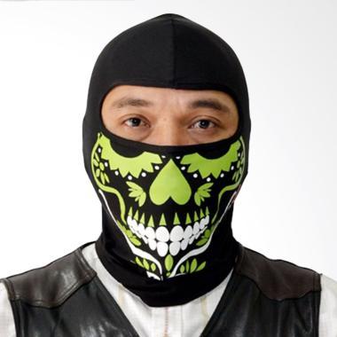 Roduta Balaclava Masker Full - Hijau Muda
