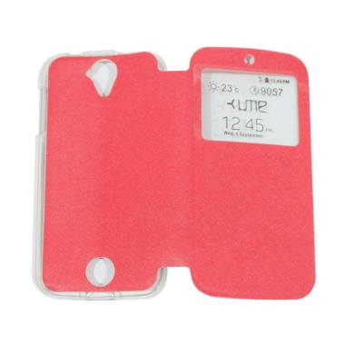 Ume Flipshell / Flip Cover Casing f ... ng Handphone / View - Red