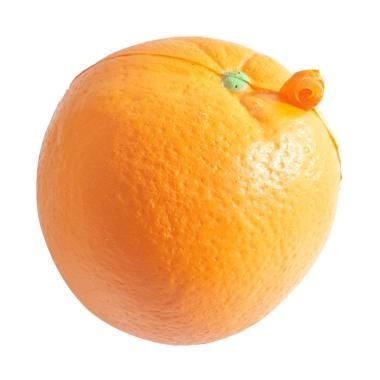 Chocobi Slime Big Orange Squishy Gantungan Kunci