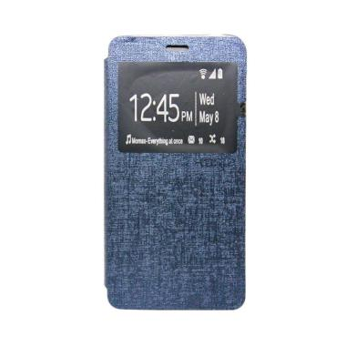 Ume Flip Cover Casing for Oppo Neo 5 R121001 - Biru