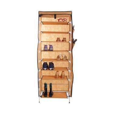 Anya-Living RS 009 - 10T Shoe Rack - Brown