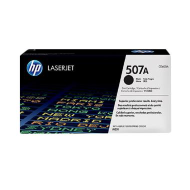 harga HP Original 507A LaserJet Toner Cartridge - Black Blibli.com
