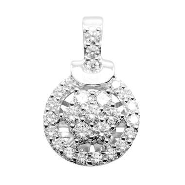 Lino P1601110008 VS Berlian Emas Putih Liontin [18K]