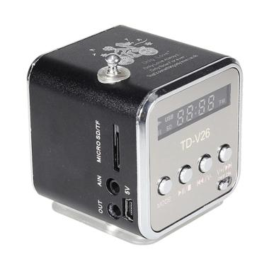 Mbox Speaker Portable Radio FM and MP3 Player