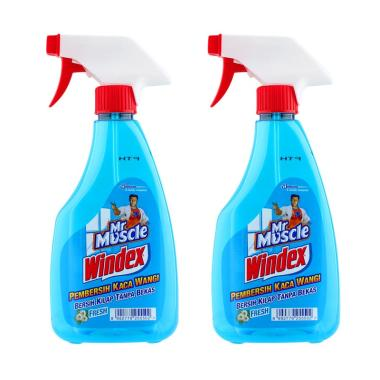 MR. MUSCLE Windex Liquid Fresh Pump [500 mL-2 pcs] 255500000