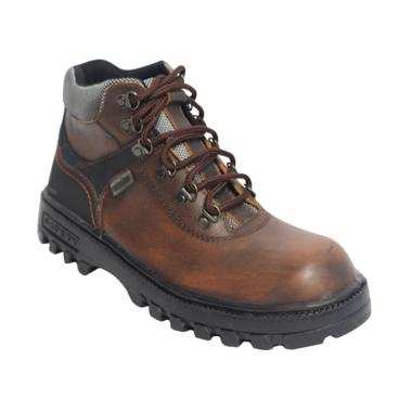 Raindoz Tracking RLI 012 High Sepatu Pria - Dark Brown 776f0f2041