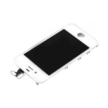 Apple New Original LCD for iPhone 4G - White