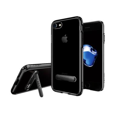 Spigen iPhone 8 / iPhone 7 Case Ultra Hybrid S - Jet Black