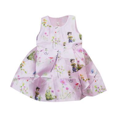 Wonderland Dress Anak Sakura - Pink