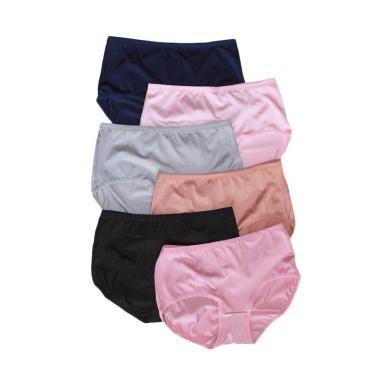 Aily 8818 Celana Dalam Wanita [6 pcs] - Multicolor