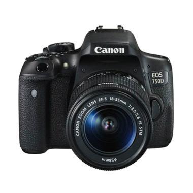 Canon EOS 750D Kit EF-S 18-55MM IS STM Kamera DSLR