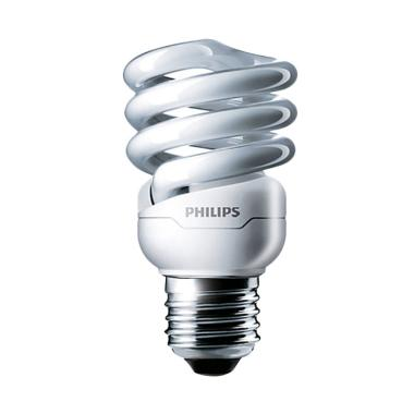 Philips Lampu Tornado - Putih [12 Watt]