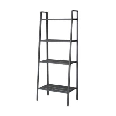 Ikea Lerberg Unit Rak - Abu-abu [Lebar 60 cm/ 4 Susun]