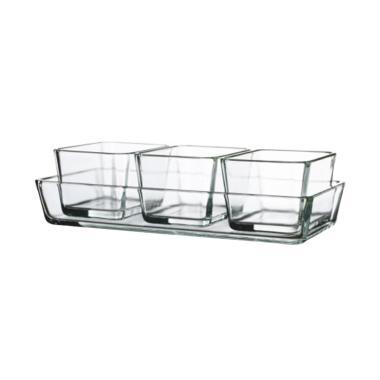 harga Ikea Mixtur Piring Saji atau Piring Oven Clear