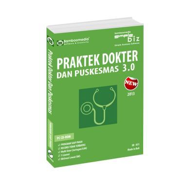 Bamboomedia Program Praktek Dokter 3.0 Software