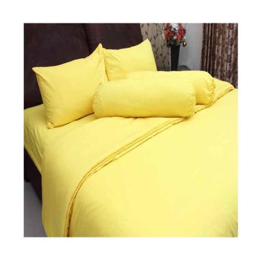 Chelsea Microtex Polos Set Sprei - Kuning