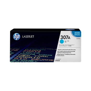 HP 307A Original LaserJet Toner Cartridge - Cyan