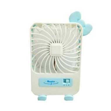Maspion MF 01 Portable USB Mini Fan - Biru