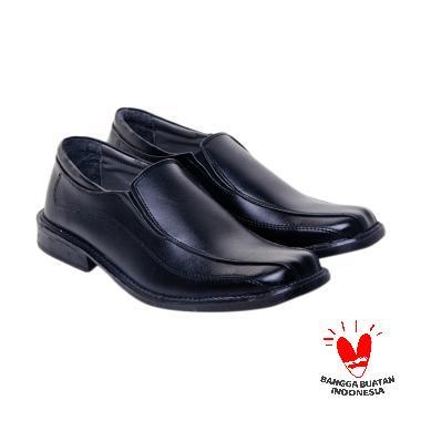 Salvo Shoes Sepatu Pantofel KF 817 - Hitam