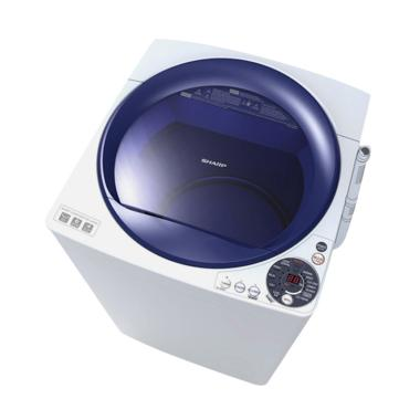 Sharp ES-M805P-WB Mesin Cuci [Top Loading/ 8 Kg]