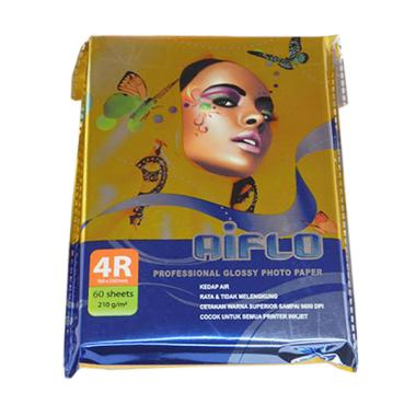 Aiflo Glossy Photo Paper [4R/210 Gsm/60 Sheets]