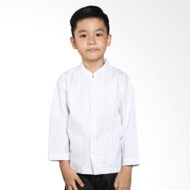 Intresse KD-1300378-WH Hydrangea Baju Koko Anak