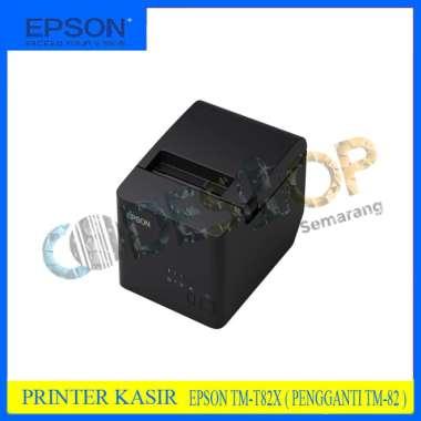harga PRINTER POS KASIR EPSON TMT82 - STRUK THERMAL EPSON TMT 82 USB TM-T82 - USB hitam Blibli.com