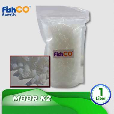 harga MBBR K2 KALDNES MEDIA FILTER RUMAH BAKTERI 1 Liter putih Blibli.com