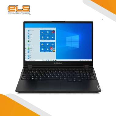 Lenovo Legion 5 15IMH05 K9ID Gaming Laptop - Hitam [i7 10750H/ 16GB/ 512GB/ GTX-1650Ti/ W10/ OHS] Black