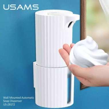 harga USAMS ZB172 Wall Mounted Automatic Soap Dispenser PUTIH [ WHITE ] Blibli.com