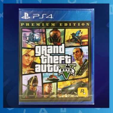 harga PS4 GRAND THEFT AUTO V PREMIUM EDITION PLAYSTATION 4 Blibli.com