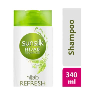 SUNSILK Hijab Recharge Shampoo Hijab Refresh [340mL]