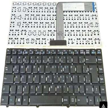 harga ORIGINAL Keyboard Acer One Z1401, 14 Z1401 ,Z1402 ~ Black Blibli.com