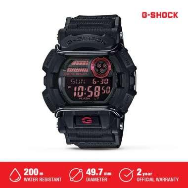 Casio G-Shock Jam Tangan Digital Pria GD-400-1DR Black Original