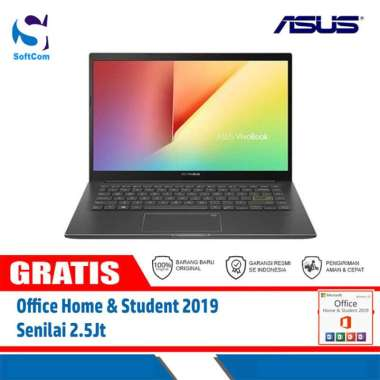 harga Asus VivoBook K413EA-AM351TS Notebook [Core i3-1115G4/8GB/512GB SSD/14