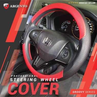 harga VW Golf MK6 Polo Sciroco New Beetle Phaeton Safari Tiguan Touran Combi Cover Stir Steer Sarung Setir Mobil Groovy Argento Merah Hitam Blibli.com