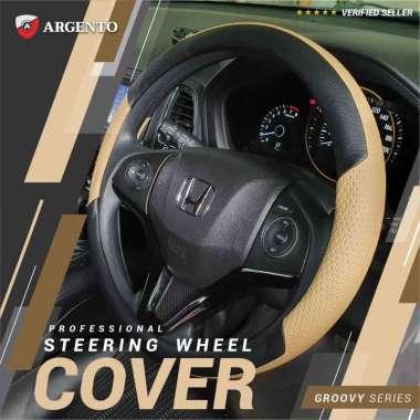 harga VW Golf MK6 Polo Sciroco New Beetle Phaeton Safari Tiguan Touran Combi Cover Stir Steer Sarung Setir Mobil Groovy Argento Cream Hitam Blibli.com