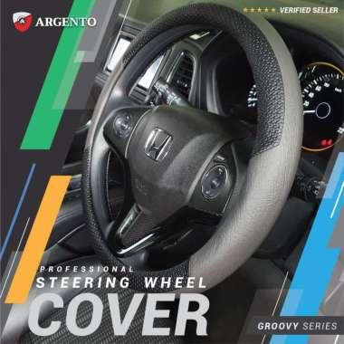 harga VW Golf MK6 Polo Sciroco New Beetle Phaeton Safari Tiguan Touran Combi Cover Stir Steer Sarung Setir Mobil Groovy Argento Abu Hitam Blibli.com