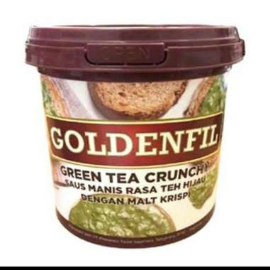 harga Goldenfil Greentea Crunchy 1 kg Selai Roti Blibli.com