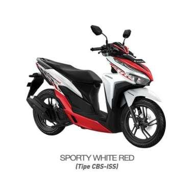 harga Honda New Vario 150 eSP CBS ISS Sporty Sepeda Motor [VIN 2021/ OTR Sulawesi] No White Red Makassar Blibli.com