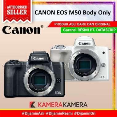 harga KameraKamera CANON EOS M50 Body Only / Canon M50 / EOS M-50 Black Blibli.com