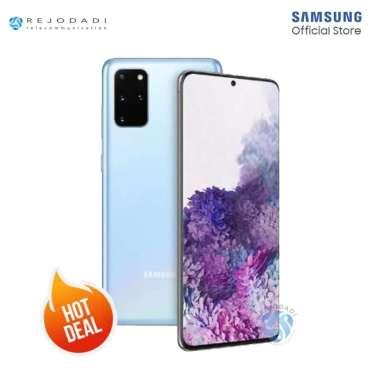 harga SAMSUNG Galaxy S20 Plus [8/128GB] - Garansi Resmi SEIN Cloud Blue Blibli.com