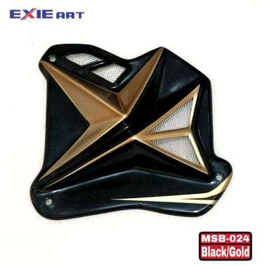 harga COVER RADIATOR AIR SCOOP ALL NEW AEROX CONNECTED & ALL NEW NMAX - NMAX 155 OLD & AEROX 150 OLD - HOLOGRAM - AKSESORIS MOTOR GOLD NEW Blibli.com