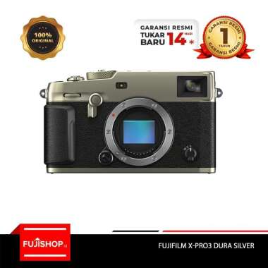 harga FUJISHOPID SERPONG Fujifilm XPRO3 X-PRO3 Body Only Kamera Mirrorless + Sandisk Extreme 64GB + Mug Lens Cup [By Claim] Garansi Resmi Dura Black Blibli.com