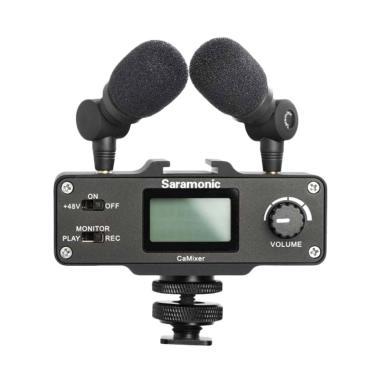 harga Saramonic CaMixer Mini Preamp Audio Mixer Kit - KameraKamera Blibli.com